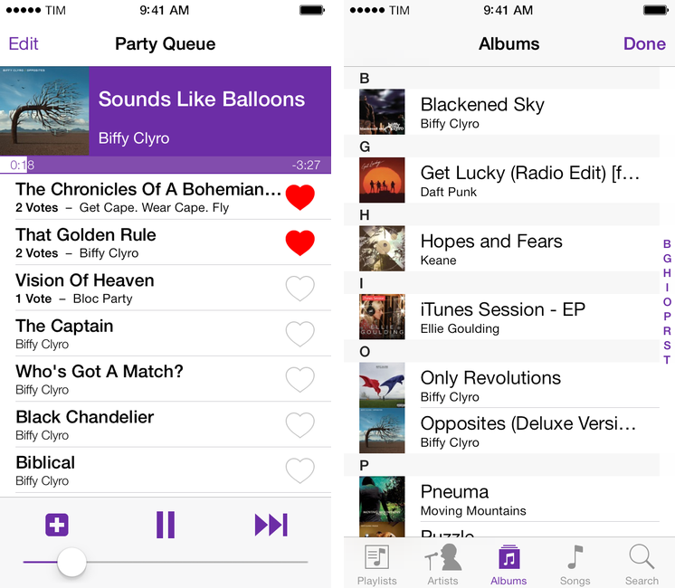 Party DJ Brings iTunes DJ Feature Back to iOS 7 With App for iPhone and iPad